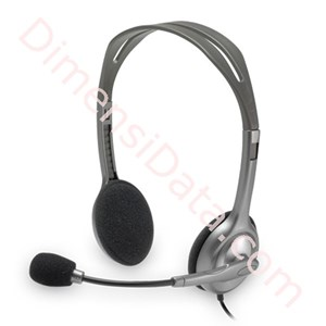 Picture of Headset LOGITECH Stereo H110 [981-000459] - Black
